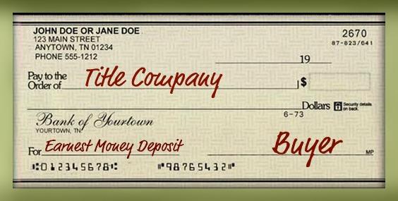 earnest check